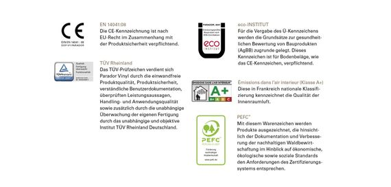PARADOR Vinyl Basic 20 Eiche pastellgrau Gebürstete Struktur Landhausdiele mit HDF-Trägerplatte und integrierter Trittschalldämmung aus Kork – Bild 12