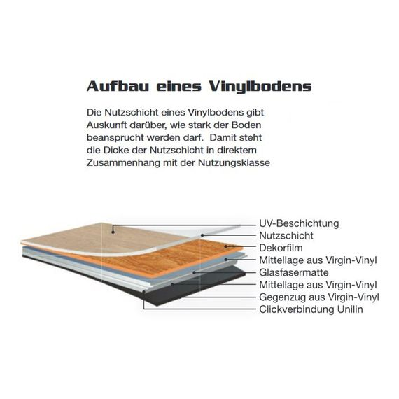 CHECK one Vinylboden XL Fliese Vinyl 0.3 Dekor Java Travertin 4V-Fuge 2115-0101 – Bild 6