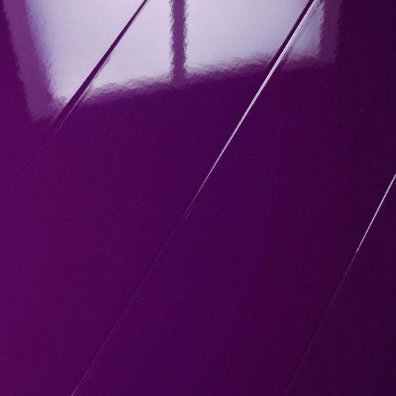 ELESGO Laminat Glamour Life Superglanz Hochglanz Rundkante Dekor SG Violett – Bild 1
