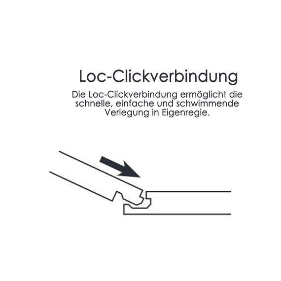 CHECK one VINYL 0.55 Breitdiele 2048 Anna Eiche 4V-Fuge Vinylboden – Bild 10