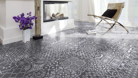 KRONOTEX Laminat Glamour Palazzo Q004 Natursteinoptik matte Oberfläche – Bild 5