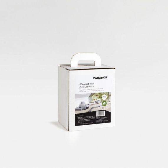 Parador Pflegeset weiß für die Reinigung und Pflege weiß-pigmentierter Echtholzböden - Set ausreichend für ca. 50 m² Artikel-Nr.: 1477375