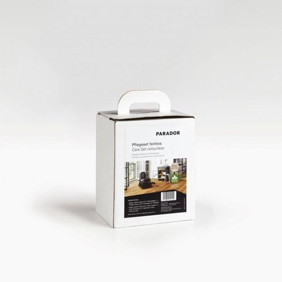 Parador Pflegeset farblos für die Reinigung und Pflege von geölten Echtholzböden - Set ausreichend für ca. 50 m² Artikel-Nr.: 1477422 – Bild 1