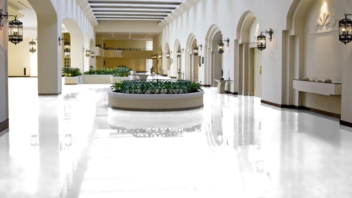 KRONOTEX Laminat Glamour Gloss Art white D2935 Hochglanz XL Fliesenoptik ohne Fuge Artikel-Nr.: D2935 – Bild 7