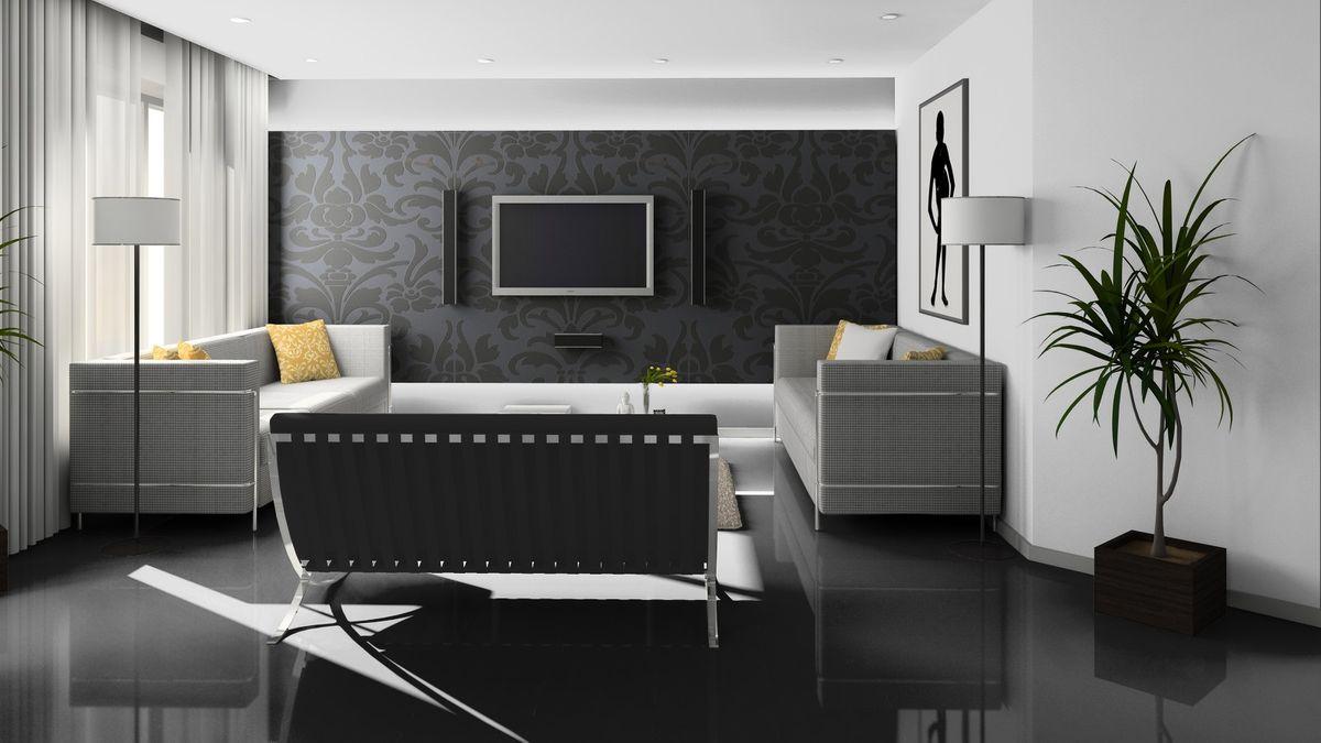 KRONOTEX Laminat Glamour Gloss Art schwarz U 190 Hochglanz XL Fliesenoptik ohne Fuge Artikel-Nr.: U190 – Bild 2