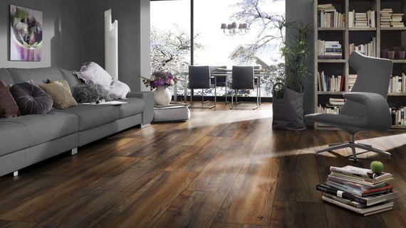 JANGAL Laminat Dekor Golden Stream Oak Eiche mehrfarbig 4-V Fuge Artikel-Nr.: 8019  – Bild 8